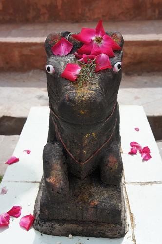 Temple isolé à ciel ouvert, Inde, photo Infinite Love