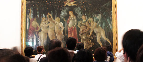 """Le Printemps"" de Boticelli, Florence, Photo Serge BRIEZ"