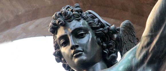 Persée de Benvenuto Cellini, Florence, Place Signoria, 2012, Photo Serge Briez