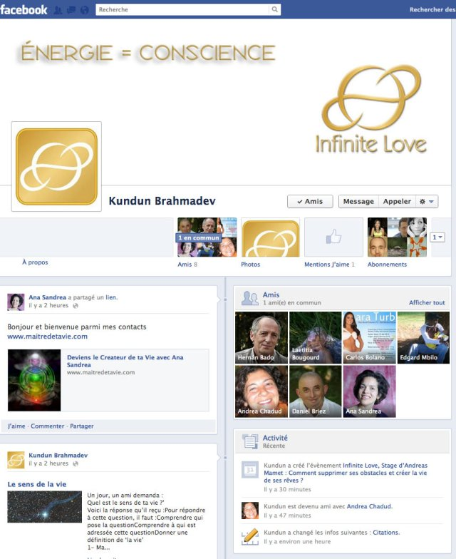facebook INFINITE LOVE