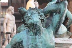 Satyre de la fontaine de Neptune, Florence, photo Serge Briez