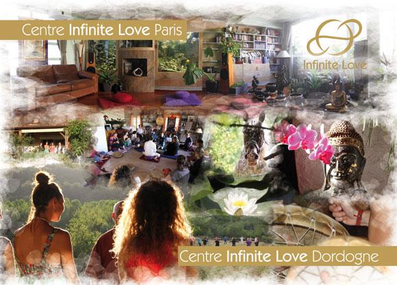 Centres infinite Love à paris et en Dordogne