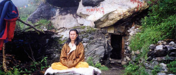 photo issu du film Yogis of Tibet