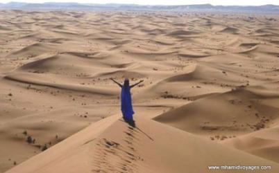 Retraite d'amour et paix des femmes dans le Sahara
