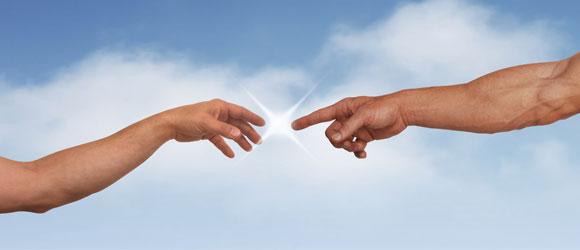 main de Dieu, Main de l'homme